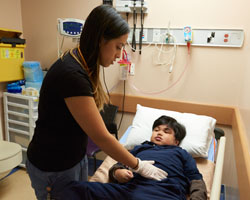 North York General Hospital led the provincial ranking of Emergency Department (ED) pay-for-results (P4R) in 2014.