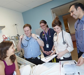 The patients and families we care for every day are at the heart of our hospital.