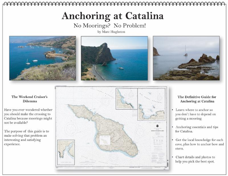 Courtesy of Marc Hughston.   Anchoring at Catalina guidebook cover image.