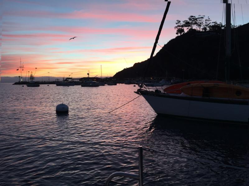 Sunrise at Avalon by Melissa Fox