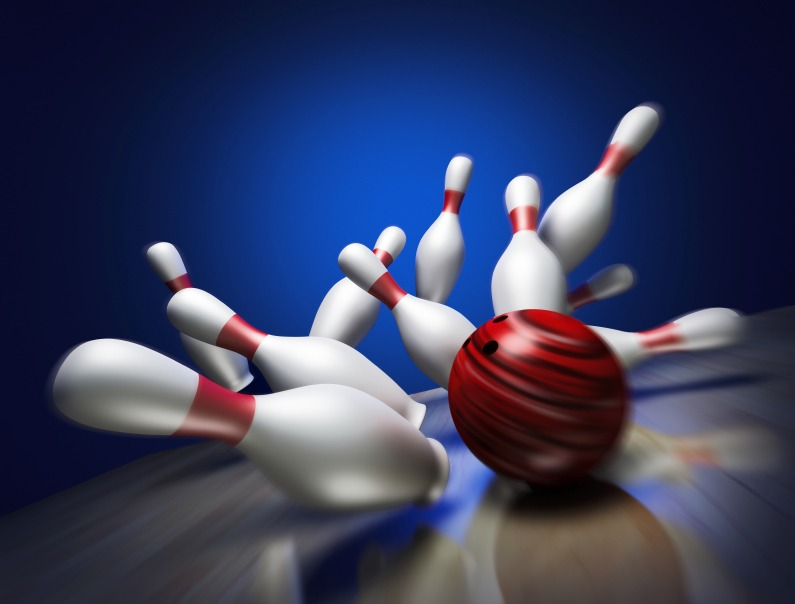 bowling red