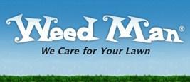 Blue Weed Man Logo