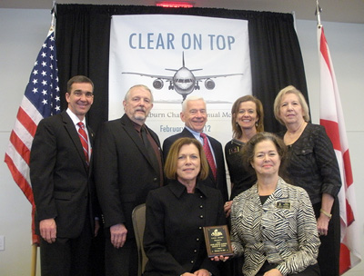 OLLI at Auburn U receives Chamber of Commerce Award