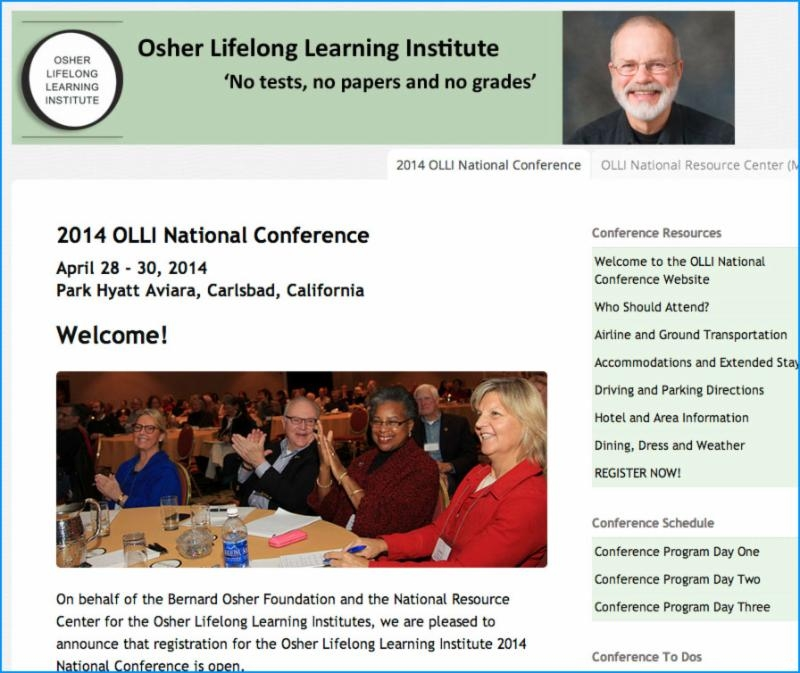 OLLI NRC Conference web page