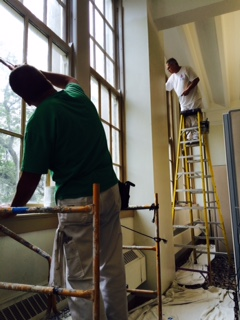 Painters Hard at Work