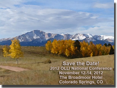 OLLI 2012 National Conference Save The Date card