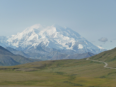 Photo of Mt McKinley