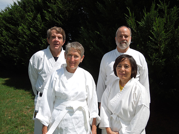Photo of the Karate team from OLLI at Auburn University