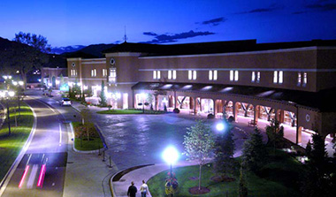 Photo of Broadmoor Hall at Night