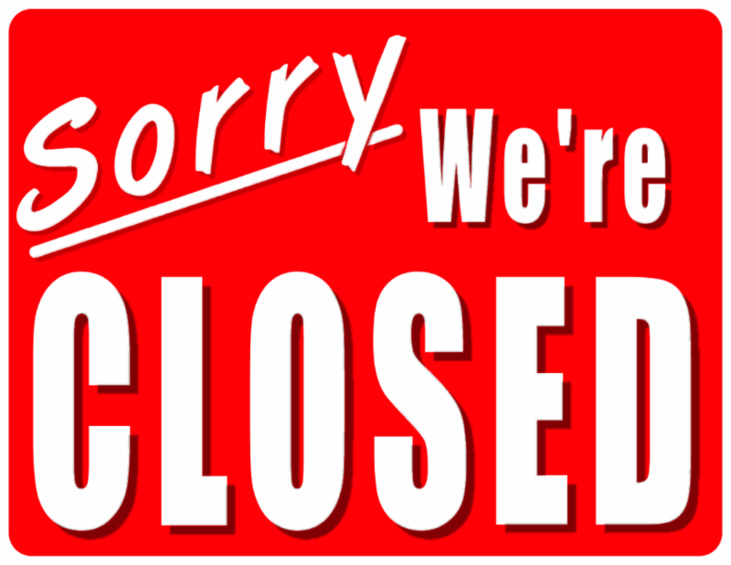 Closed for Business image