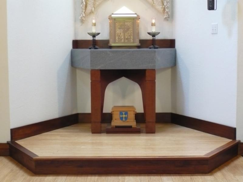 Image of Alter in Abbey Church