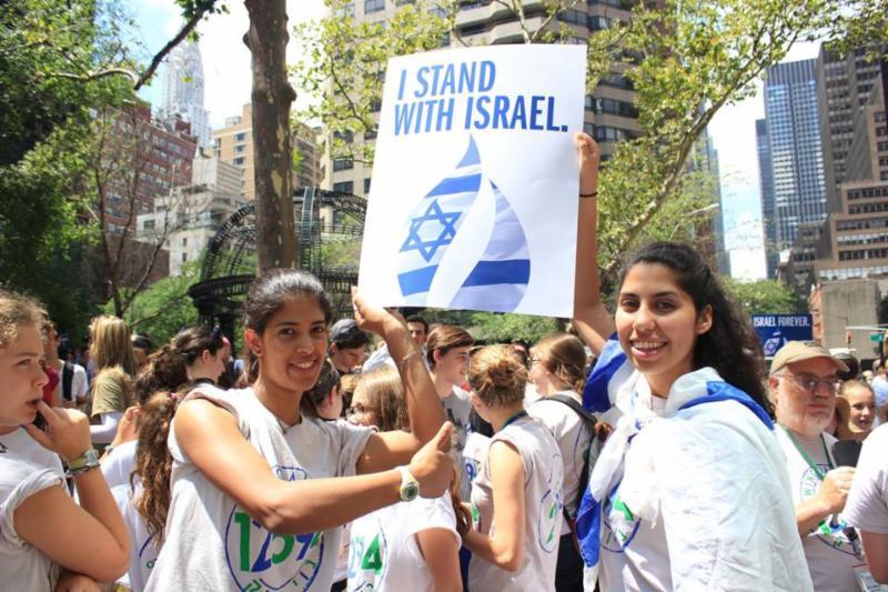 Berkshires at Israel Rally