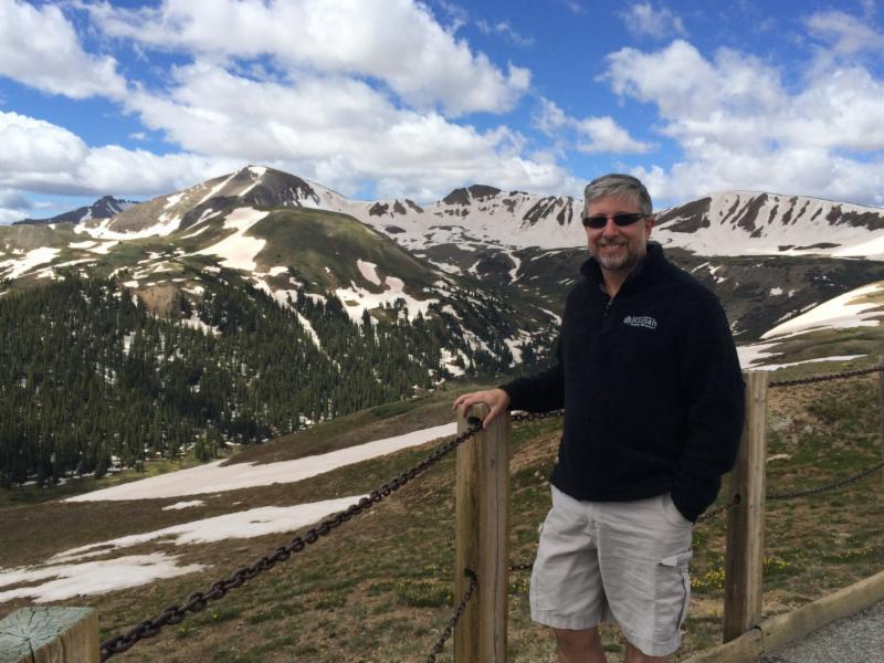 Rabbi Nevins in Colorado Summer 2014