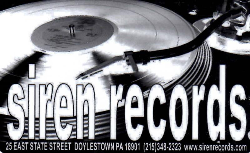 Siren Records New Releases Vinyl Restocks Events