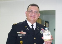 Army Col Richard Gonzales Travels To France To