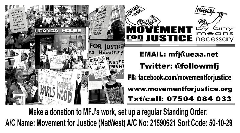 Donate to MFJ card