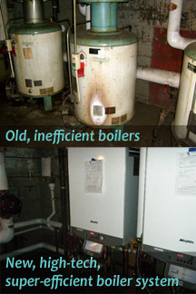 Boilers at the Devonshire