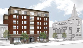 Williams Apartments rendering