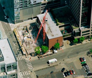Dekko Place under construction