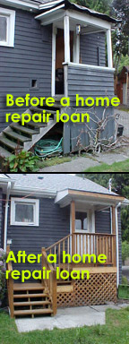 Before & After: Home repair loans