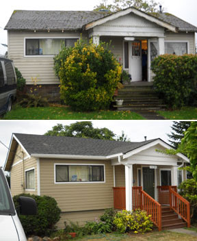 Home Repair - Before & After
