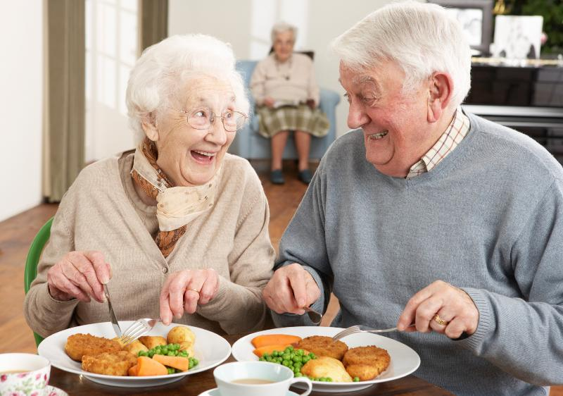 elderly nutrition Home delivered meals and congregate dining services assist vulnerable elderly  persons by providing opportunities for nutritional and social support screening.