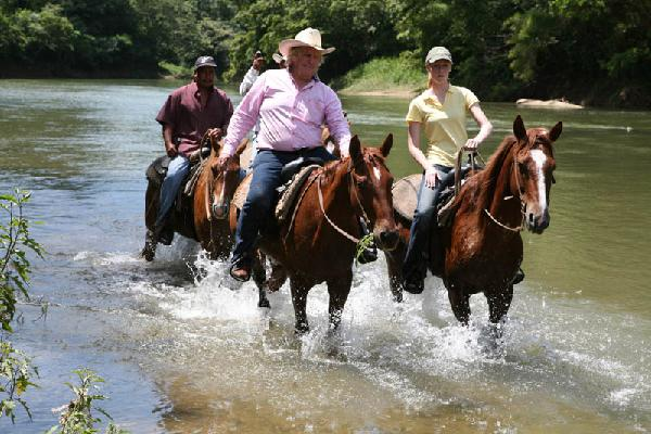 Darley, John Carr riding up Belize River