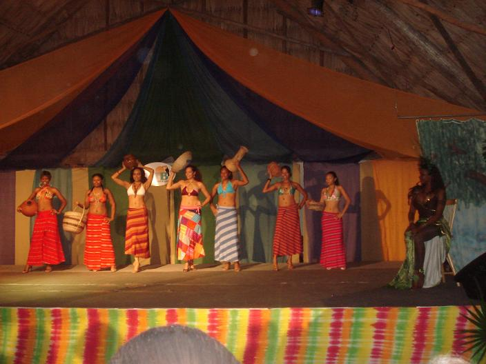 Opening night BETEX 2008 at Old Belize