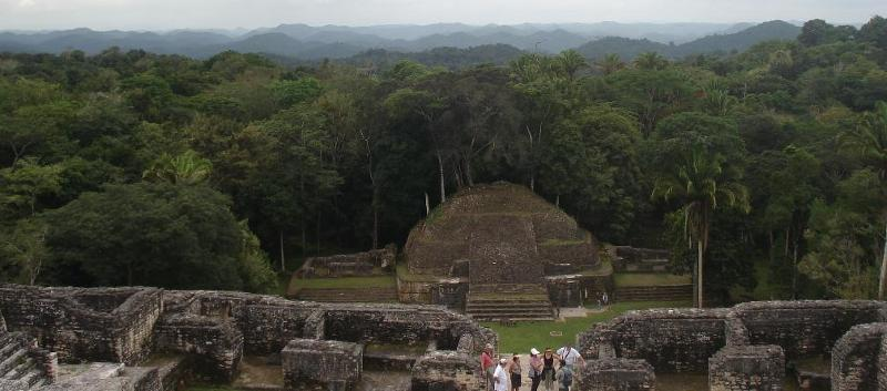 Caracol is the largest Maya site in Belize