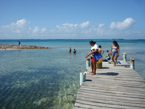 Snorkeling at Tobacco Caye