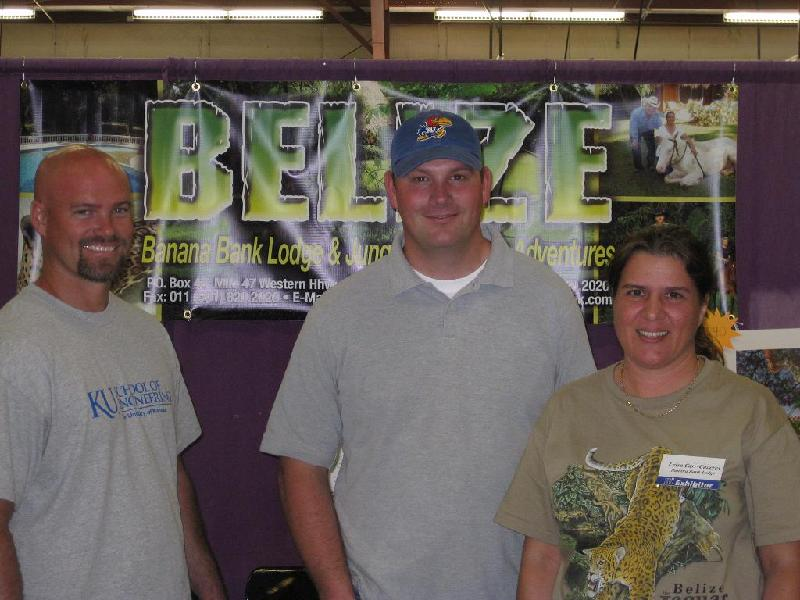 Luke & Matt Jaeger visit Leisa at 3i Show
