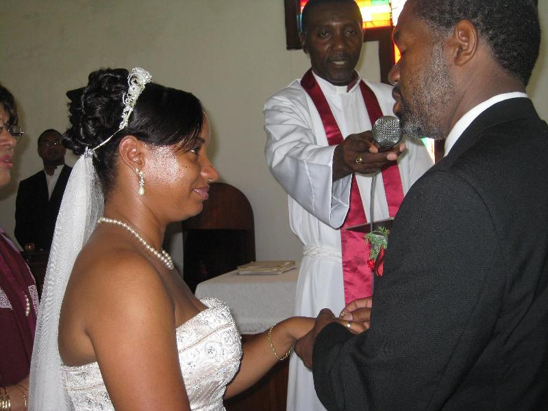 Phillip Tate and Marcene Coleman wed July 17, 2010