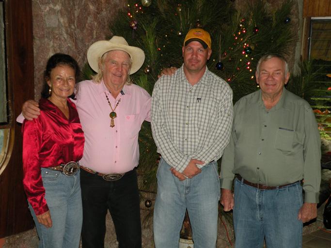 Carolyn & John Carr, Nathan & Bill Jaeger