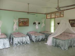 Mott Mott room dressed with new bedspreads by Esperanza