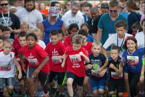 Amazement Square hosts the Amazing Mile Childrens Run with over 700 participants annually