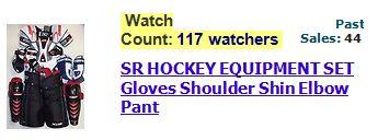 Dec newsletter hockey equipment