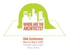 OAA Conf 2009 logo