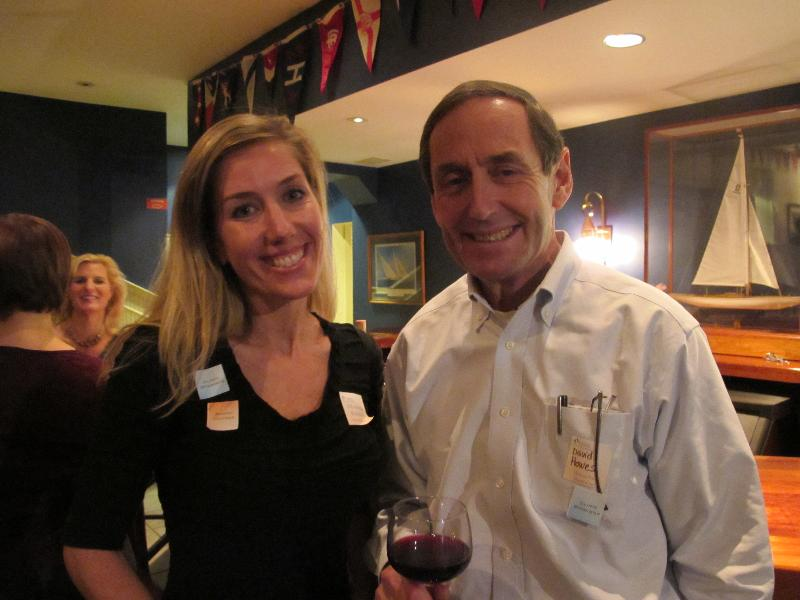 elizabeth baldacci with Martins Point CEO