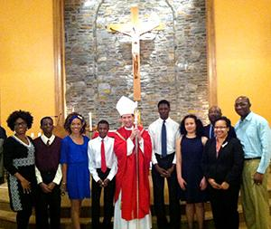 Holy Cross Confirmation Class 2016