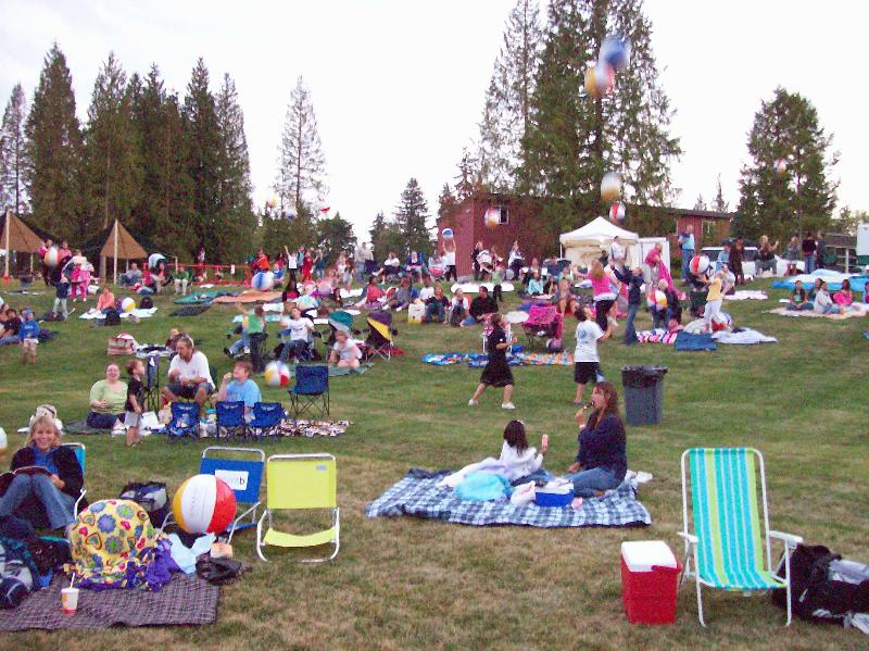 Movies in the Park at Willis Tucker Park