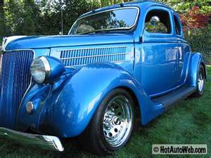 1936 Ford V8 Delux Coupe