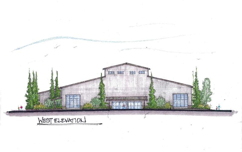 Event Center Building Concept