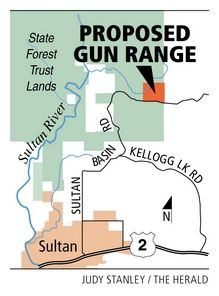 Proposed Shooting Range Map