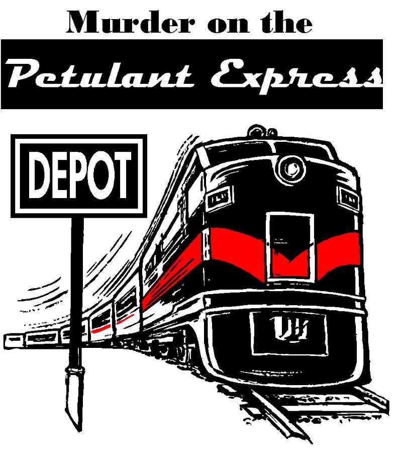 Murder Mystery Train Engine
