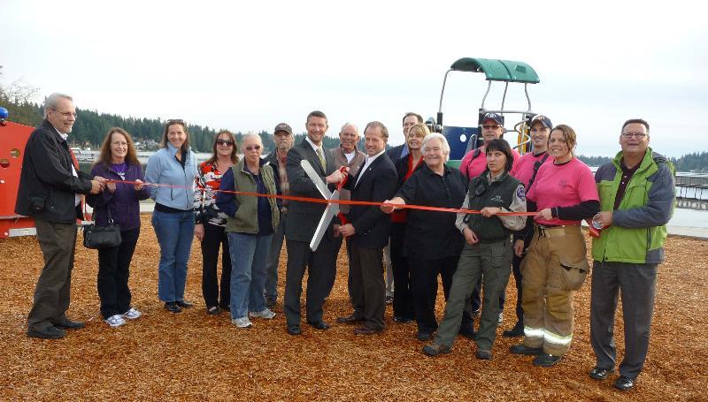 Lake Goodwin park re-dedication