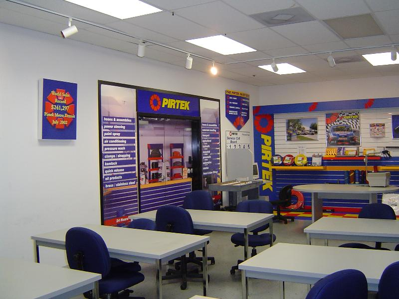 PIRTEK USA Training Room