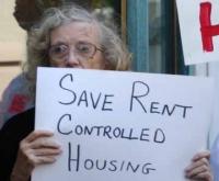 Save Rent Control Sign