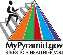 Mypyramid.gov steps to a healthier you