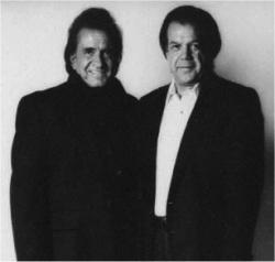 Jack Shaw & Johnny Cash B&W