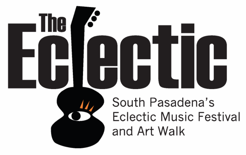 The Eclectic - South Pasadena_s Eclectic Music Festival and Art Walk - 2016 Logo